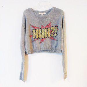 Love by Design Long Sleeve Crop Sweater
